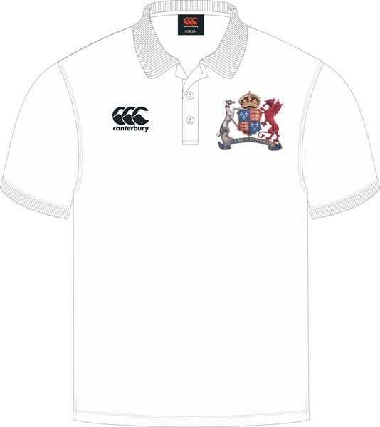 Ipswich School Waimak Polo (White)
