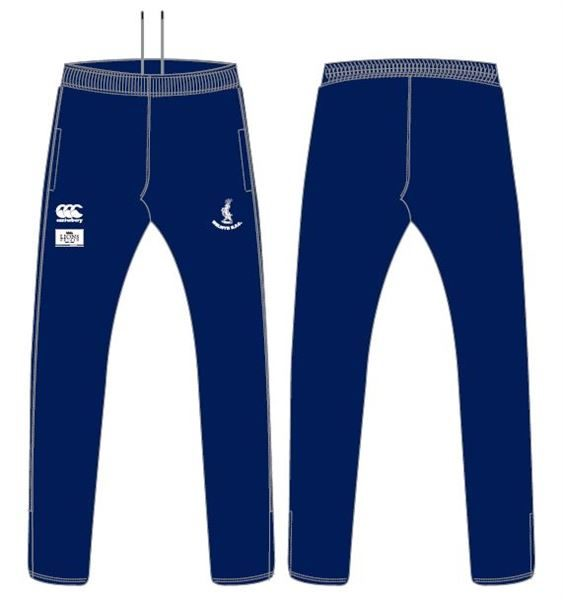 Stretched Tapered Pant Navy