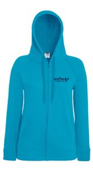 Ladies Lightweight Hoody with logo
