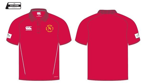 Team Dry Polo RED